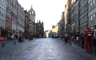 Город эдинбург достопримечательности