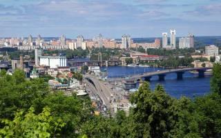 Украина самые красивые города