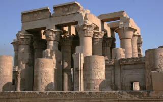 Достопримечательность храм в египте
