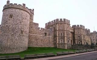 Достопримечательность замок в лондоне