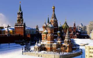 Что можно посмотреть в Москве зимой