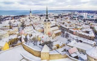 Что посмотреть в Таллине зимой