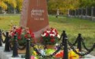 Памятники города елабуги