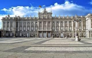 Современные европейские города например мадрид испания