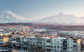 Высота над уровнем моря петропавловск камчатский