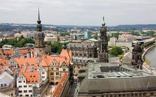 Изучаем Дрезден самостоятельно — достопримечательности, карта, фото города, погода в разное время года