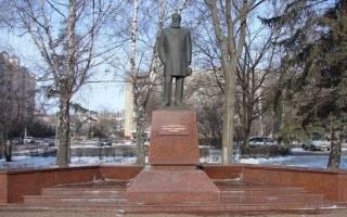 Сколько памятников в липецке
