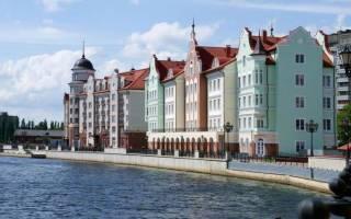 Историческая часть калининграда