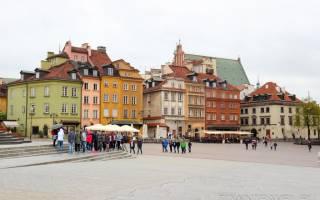 Варшава описание