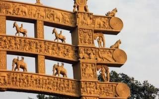 Самые известные памятники индии