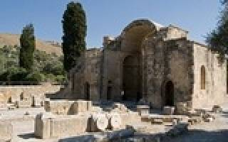 Карта древнего крита