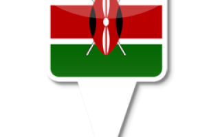 На каком материке находится кения
