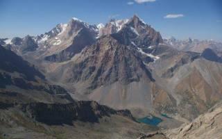 Самая высокая гора в таджикистане