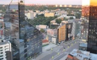 Столица города таллин