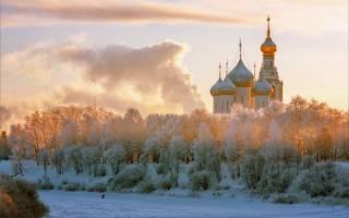 Вологда зимой достопримечательности