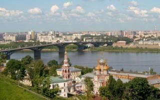 Нижний Новгород история города, достопримечательности центра