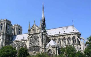Популярные места в париже