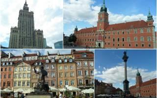 Куда поехать из Варшавы: 15 лучших идей для поездки одного дня