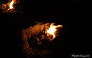 Огненная гора Химера — Янарташ в Кемере Турция: описание, легенда, как добраться, фото