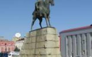 Памятники в махачкале список