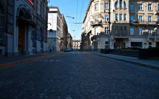 Львов центральная улица
