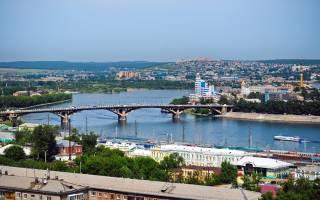 Иркутск виды города