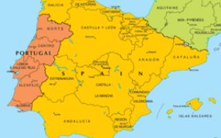Португалия на каком полуострове находится