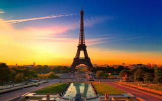 Достопримечательности парижа на французском языке