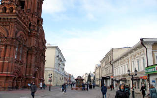 Места для прогулок в Казани. Где погулять в Казани.
