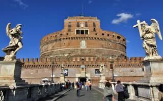 Рим популярные места