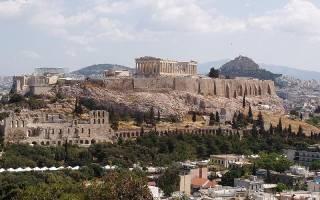 Достопримечательности древних афин