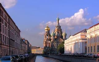 Как выглядит город санкт петербург