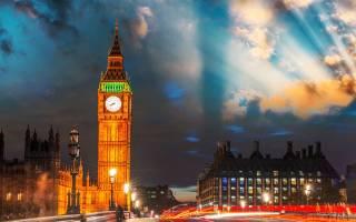 Самые популярные достопримечательности Англии
