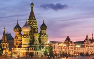 Самые известные памятники архитектуры россии