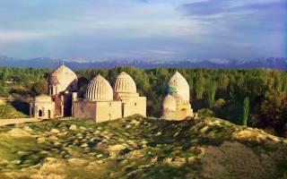Самые красивые города узбекистана