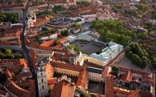 Самые красивые города прибалтики