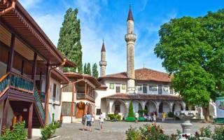 Достопримечательности Бахчисарая: 7 лучших мест