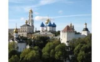 Сергиев Посад, что посмотреть за 1 день, маршрут, достопримечательности