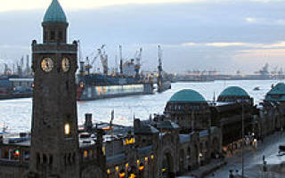 Гамбург город порт